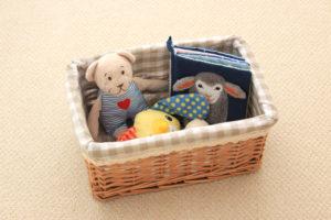 布おもちゃや布絵本の洗濯方法と消毒方法を紹介