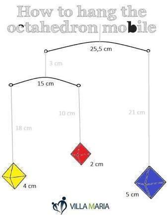 octahedron-mobile