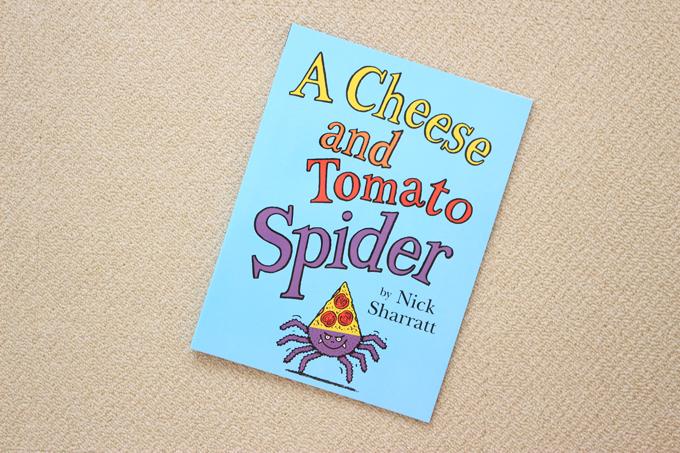ワールドワイドキッズの絵本A Cheese and Tomato Spider