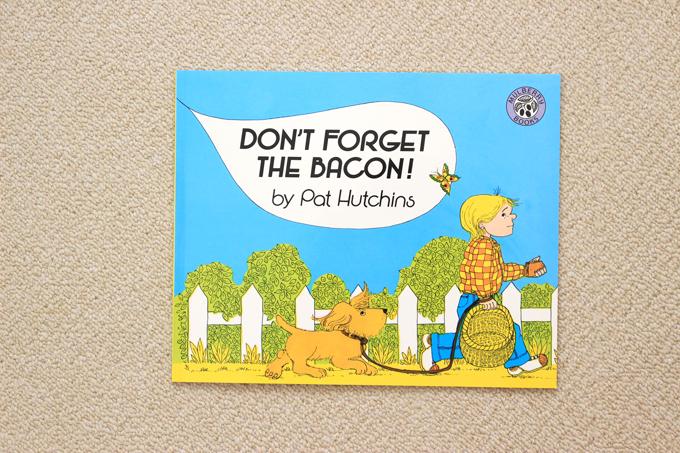 ワールドワイドキッズの絵本DON'T FORGET THE BACON!