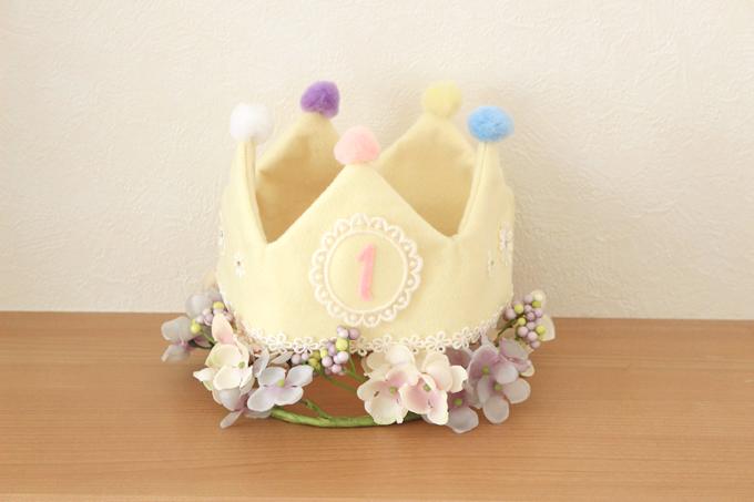 フェルト王冠の作り方と型紙配布。100均で可愛くできます