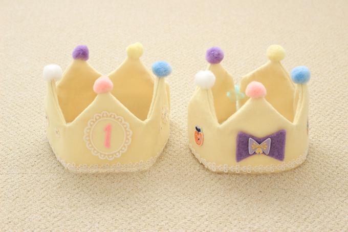 フェルトの王冠を手作りしてみよう