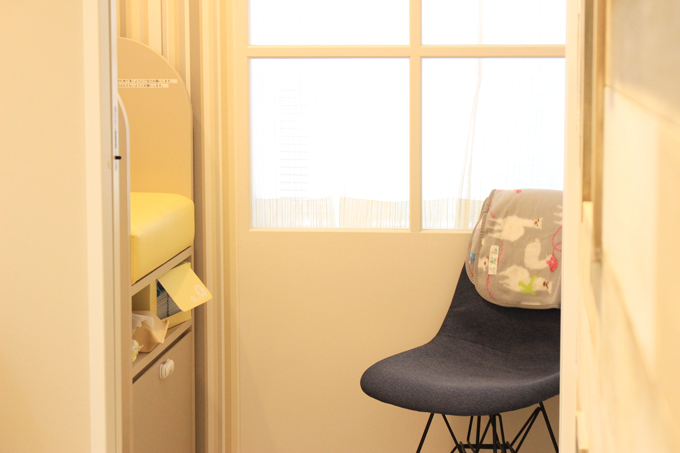 たまひよの写真スタジオには授乳室やおむつ替えコーナーもある