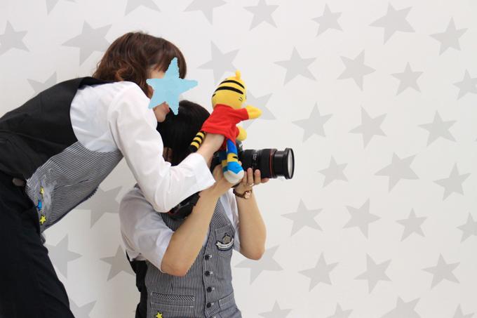 たまひよの写真スタジオのスタッフさんたち