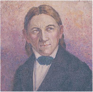 フレーベルの肖像画