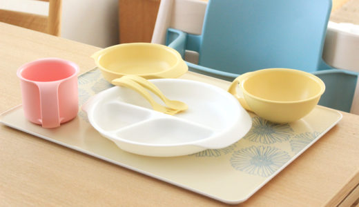 iiwanの食器を1年使った口コミ。可愛くて食育におすすめ!ミックスカラーの使用例もご紹介
