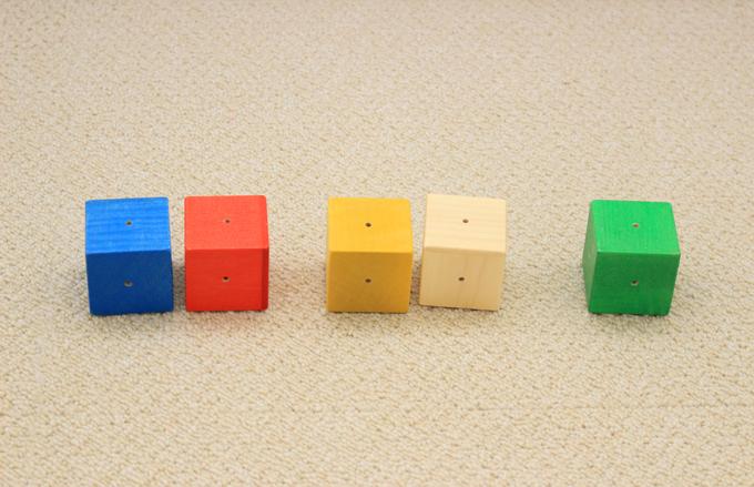 ワールドワイドキッズバージョンの「musical building blocks」は音色も新たに調整