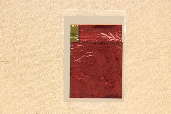 100円ショップダイソーのカラーセロハンは5色入りで44cm×32.5cm