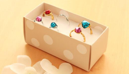 ラッピングタイ製おもちゃの指輪の作り方!簡単なのに子供に大人気なキラキラ感
