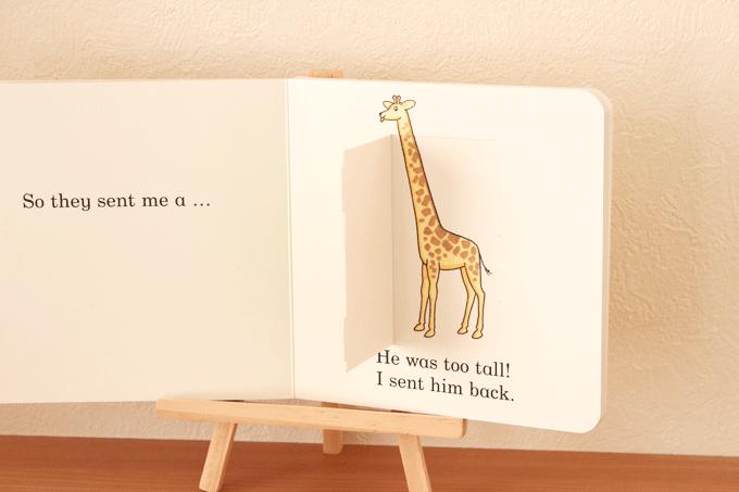 ワールドワライブラリーの英語絵本「Dear Zoo」の内容