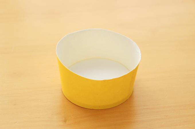 折り紙アイスのカップの作り方