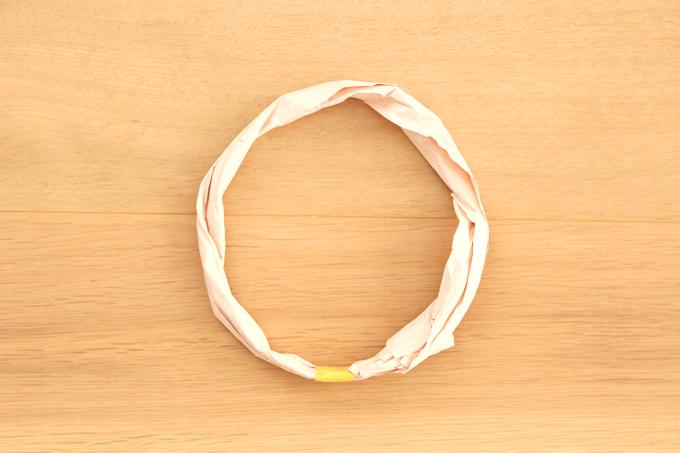 輪投げの輪の作り方