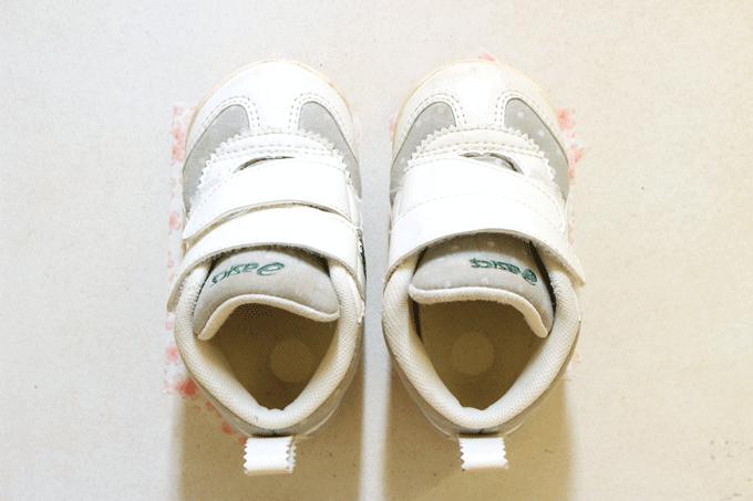 靴置きマークの効果。使ってすぐに表れた!