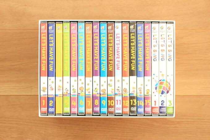 DVD×15枚(1枚約30分)