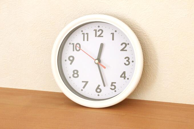 ダイソーNO.35028 掛け時計カジュアル