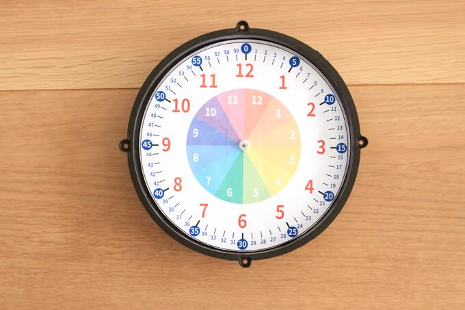 文字盤シートを時計に貼る