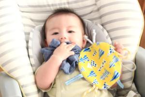 【型紙配布】赤ちゃんのカシャカシャおもちゃを手作り!簡単だけど食いつくやり方を写真で詳しく解説