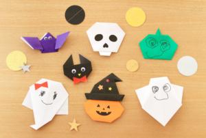 3歳からの幼児と作るハロウィンの折り紙アイディア集♪手元写真で解説します