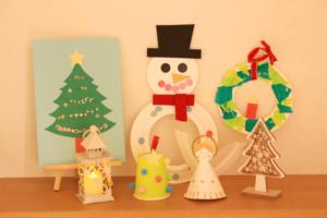 クリスマスの子供向け工作★知育遊びにもなる飾りを親子で作ろう