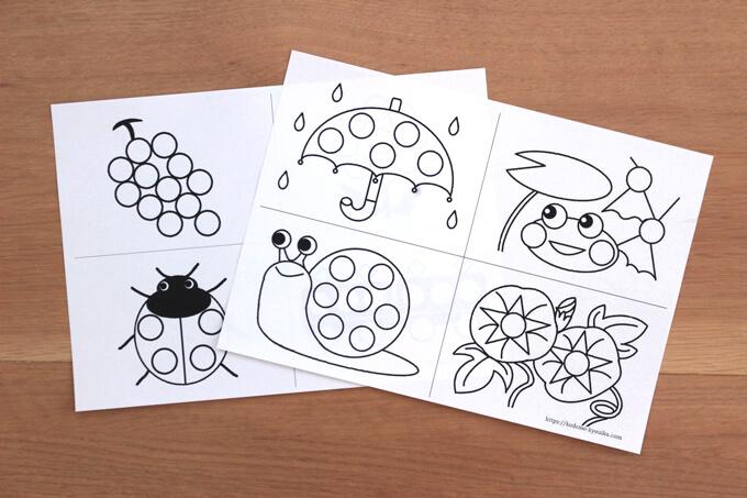 子ども教育図鑑の用紙