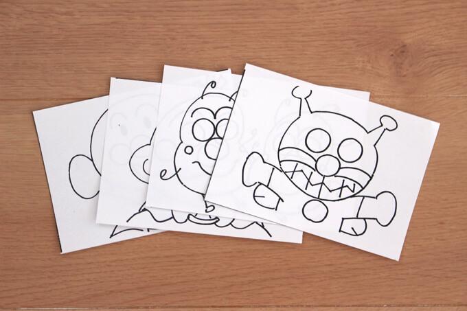 A4サイズなど大きな用紙は切るとやりやすい