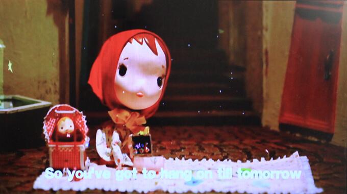 ミュージカル『アニー』で有名なTomorrowの映像