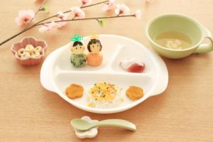 ひな祭り離乳食中期【御膳】のレシピ!初心者でも簡単&時短で可愛くできるメニュー♪