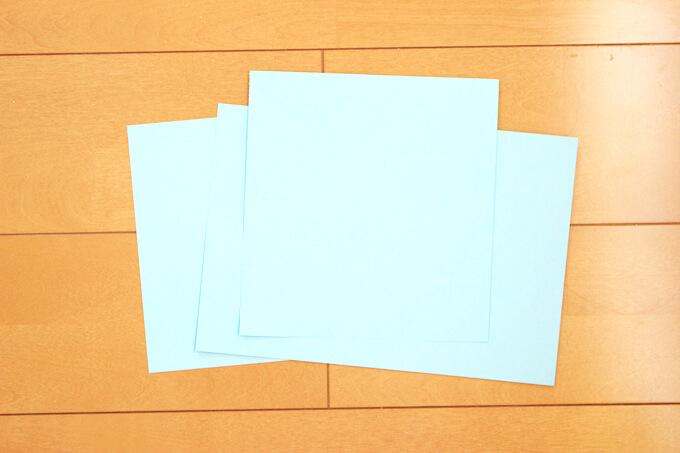 色画用紙を用意