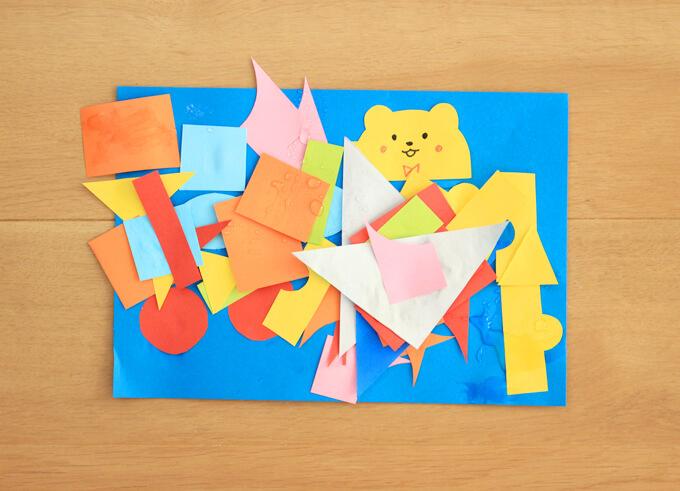 2歳の構成遊び作品