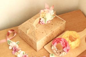 ケーキの箱の作り方★展開図不要で牛乳パックだけでサクサクできる!