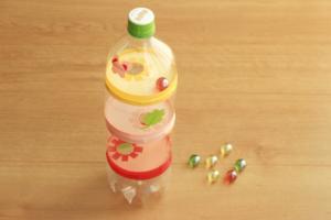 ビー玉落としをペットボトルで作ろう!落とすだけで達成感、夢中で楽しめる!