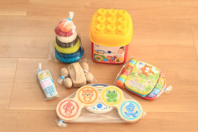 トイサブで届くおもちゃは海外製も多い