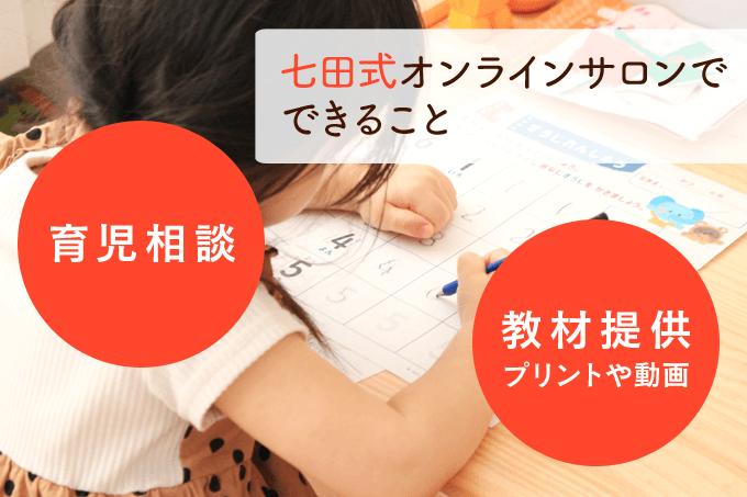 七田式オンラインサロンのコンテンツ内容とは