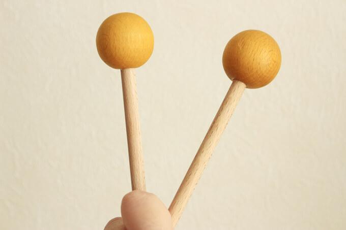 『トイサブ!』の木琴 小さな太陽のバチ