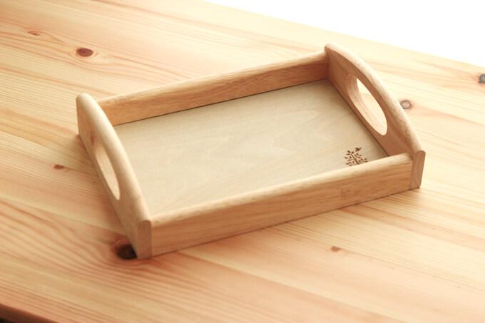おうちモンテ用木製トレイのボヌール