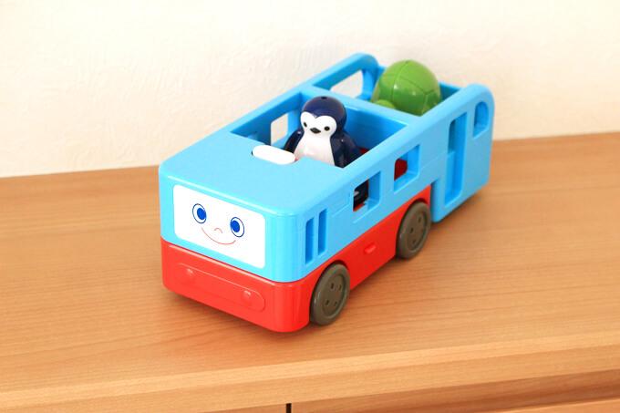 がったいブルーンバス