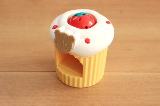 こどもちゃれんじベビー1歳号のエデュトイころりんメロディーケーキ