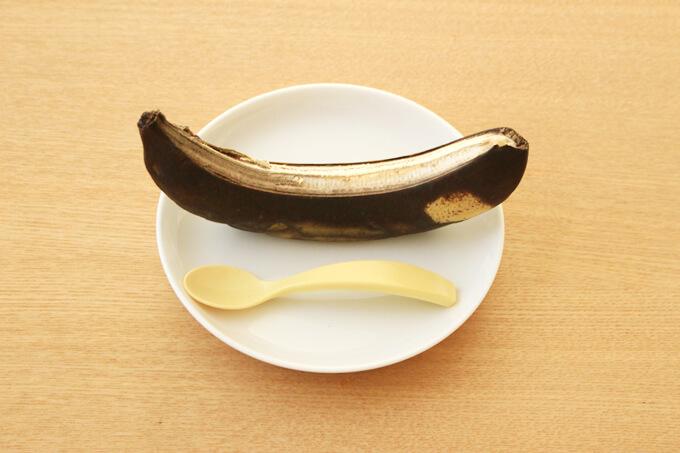 ぺあぜっとの真っ黒バナナ実験